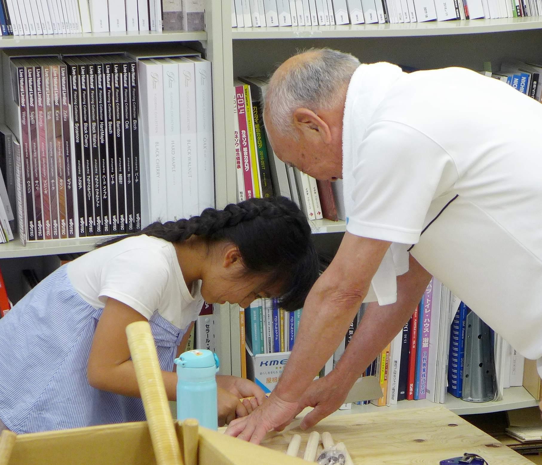 夏休み 子ども木工教室